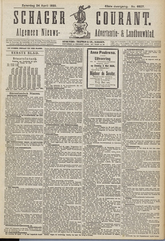 Schager Courant 1920-04-24