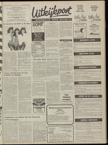 Uitkijkpost : nieuwsblad voor Heiloo e.o. 1984-08-15