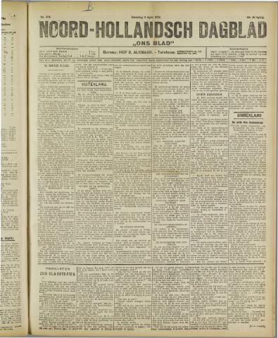 Ons Blad : katholiek nieuwsblad voor N-H 1922-04-08