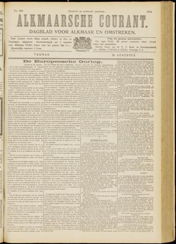 Alkmaarsche Courant 1914-08-28