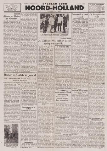 Dagblad Noord-Holland, Schager editie 1943-09-04