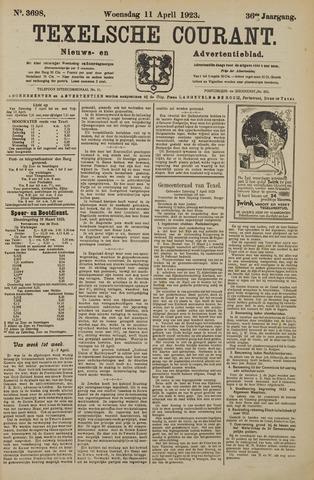 Texelsche Courant 1923-04-11