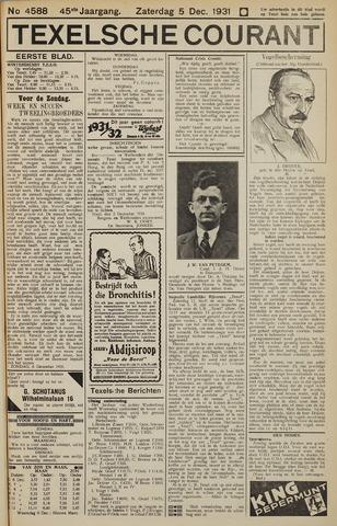 Texelsche Courant 1931-12-05