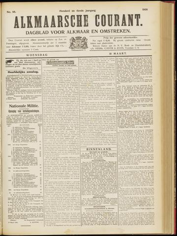 Alkmaarsche Courant 1908-03-18