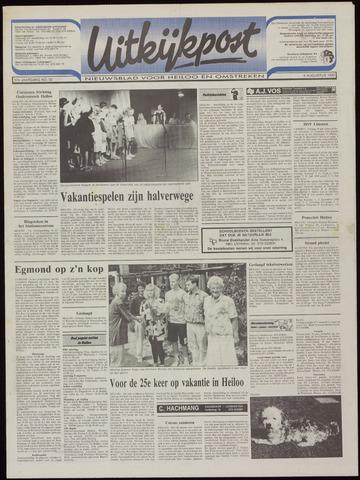 Uitkijkpost : nieuwsblad voor Heiloo e.o. 1992-08-05