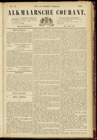 Alkmaarsche Courant 1881-06-22
