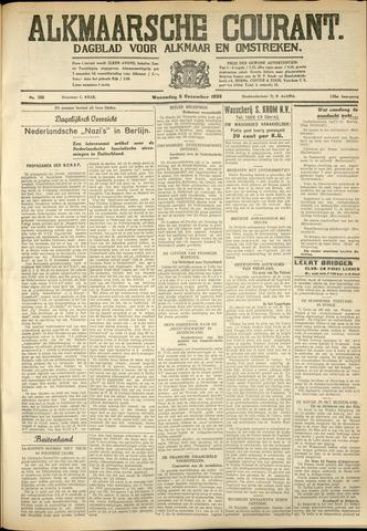 Alkmaarsche Courant 1933-12-06