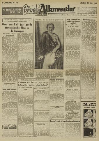 De Vrije Alkmaarder 1948-12-10