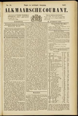 Alkmaarsche Courant 1887-02-27