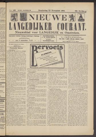 Nieuwe Langedijker Courant 1924-11-20