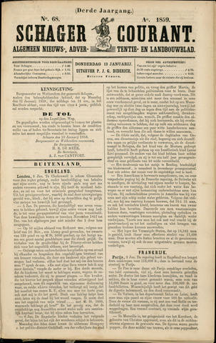 Schager Courant 1859
