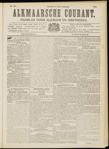 Alkmaarsche Courant 1908-09-17