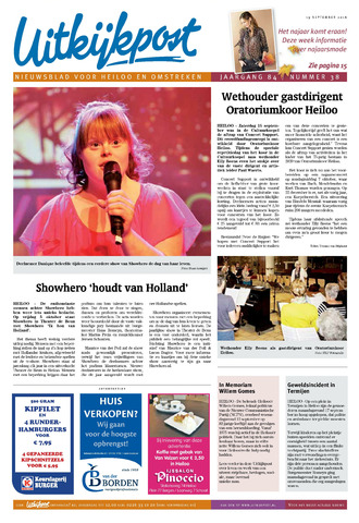 Uitkijkpost : nieuwsblad voor Heiloo e.o. 2018-09-19