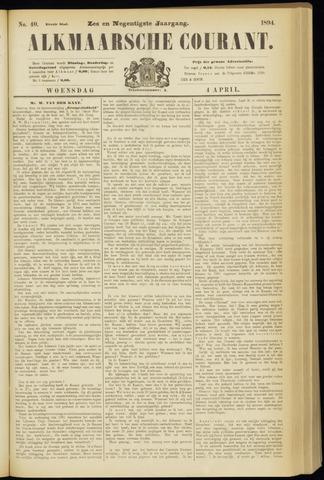 Alkmaarsche Courant 1894-04-04