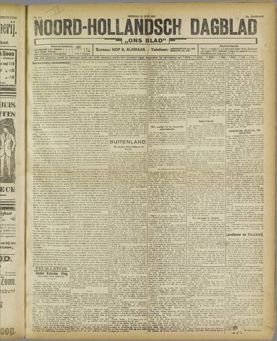 Ons Blad : katholiek nieuwsblad voor N-H 1921-06-21