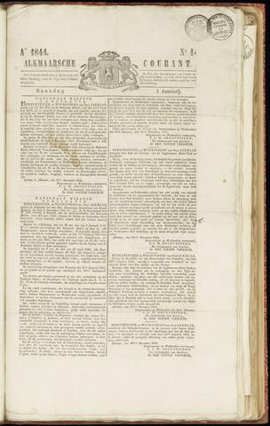 Alkmaarsche Courant 1844-01-01