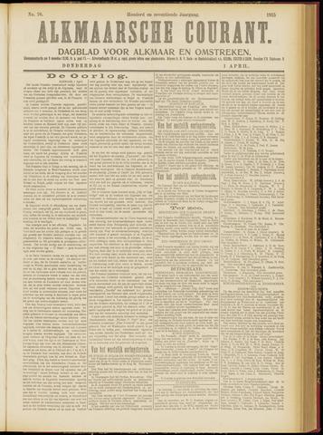 Alkmaarsche Courant 1915-04-01