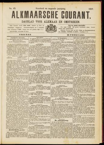 Alkmaarsche Courant 1907-02-22