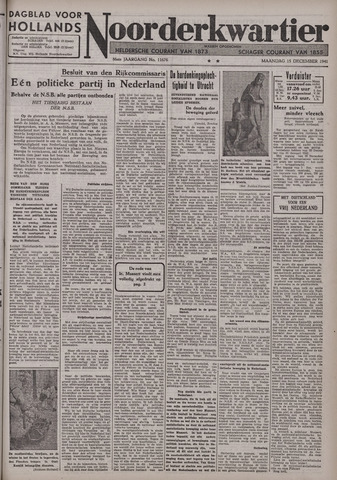 Dagblad voor Hollands Noorderkwartier 1941-12-15