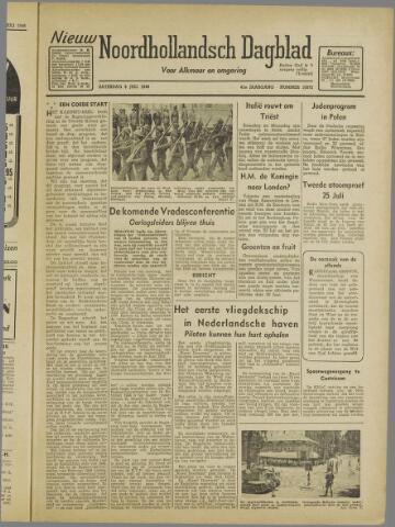 Nieuw Noordhollandsch Dagblad : voor Alkmaar en omgeving 1946-07-06