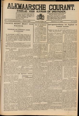 Alkmaarsche Courant 1939-03-29