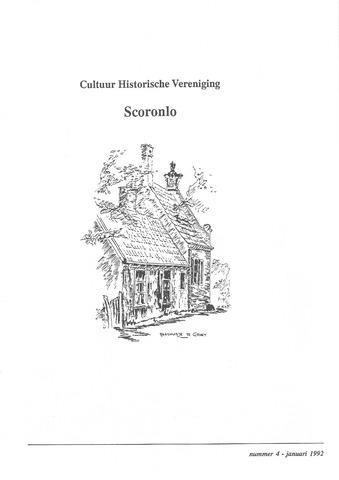 Tijdschrift van cultuurhistorische vereniging Scoronlo 1992-01-01