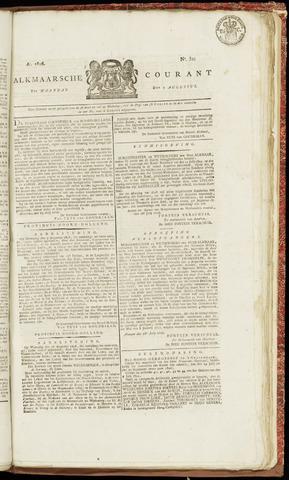 Alkmaarsche Courant 1826-08-07