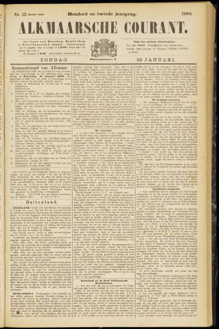 Alkmaarsche Courant 1900-01-28