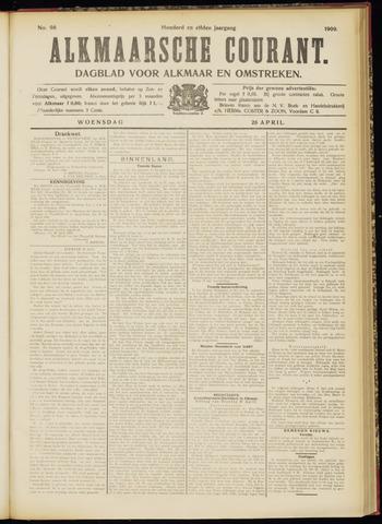 Alkmaarsche Courant 1909-04-28