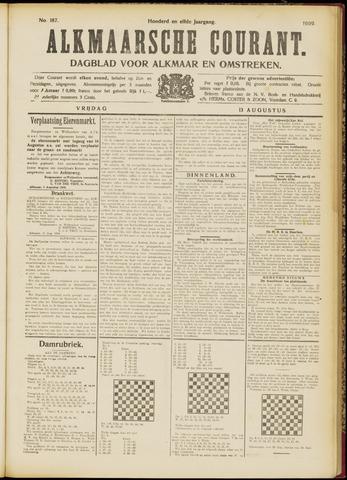 Alkmaarsche Courant 1909-08-13