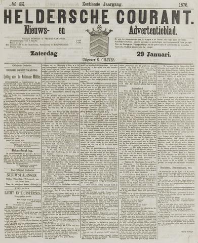 Heldersche Courant 1876-01-29