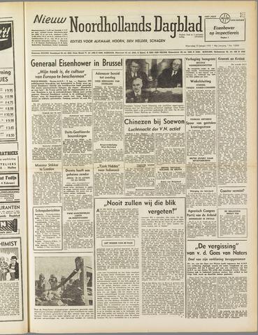 Nieuw Noordhollandsch Dagblad : voor Alkmaar en omgeving 1951-01-10