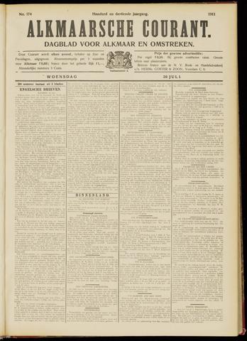 Alkmaarsche Courant 1911-07-26
