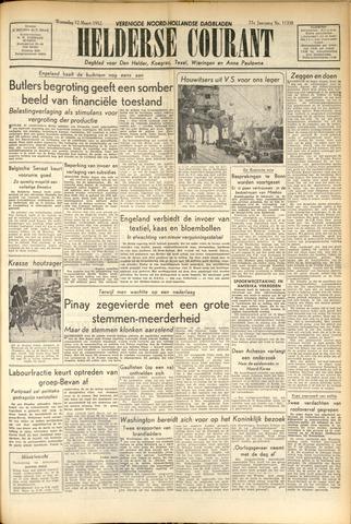 Heldersche Courant 1952-03-12