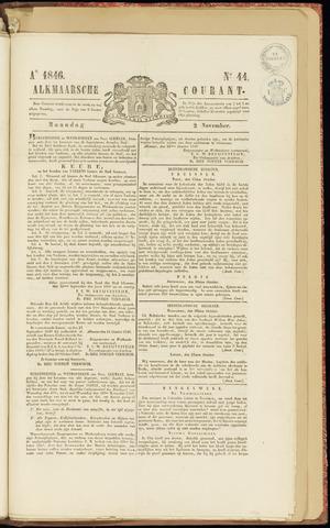 Alkmaarsche Courant 1846-11-02