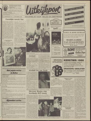Uitkijkpost : nieuwsblad voor Heiloo e.o. 1986-12-03