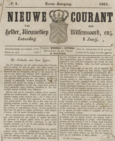 Nieuwe Courant van Den Helder 1861-06-01