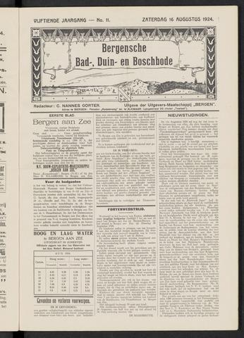 Bergensche bad-, duin- en boschbode 1924-08-16