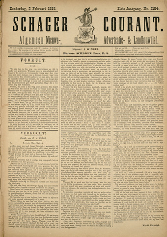 Schager Courant 1888-02-02