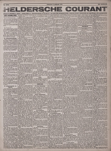 Heldersche Courant 1918-01-08