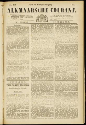 Alkmaarsche Courant 1887-09-14