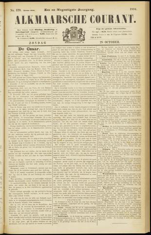 Alkmaarsche Courant 1894-10-28