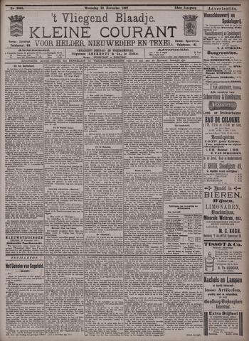 Vliegend blaadje : nieuws- en advertentiebode voor Den Helder 1897-11-24