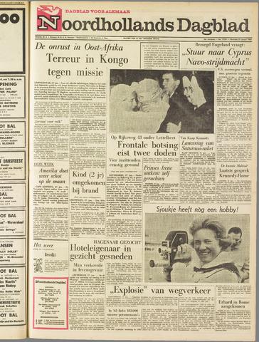 Noordhollands Dagblad : dagblad voor Alkmaar en omgeving 1964-01-27
