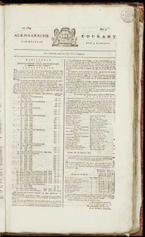 Alkmaarsche Courant 1823-01-27