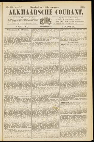 Alkmaarsche Courant 1903-10-09