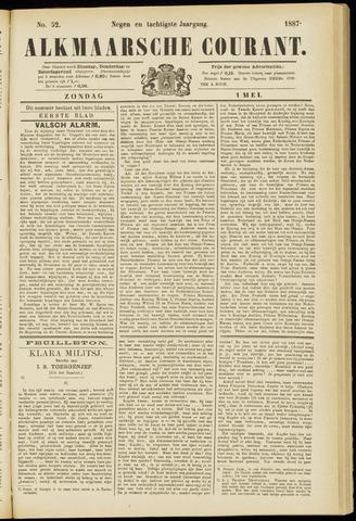 Alkmaarsche Courant 1887-05-01
