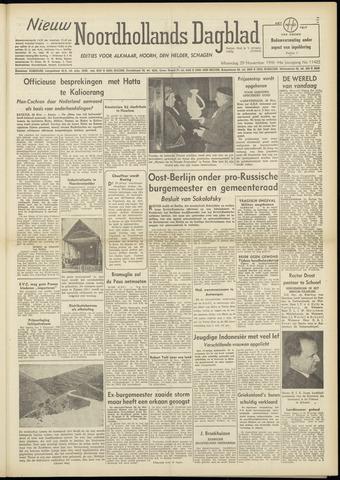 Nieuw Noordhollandsch Dagblad : voor Alkmaar en omgeving 1948-11-29