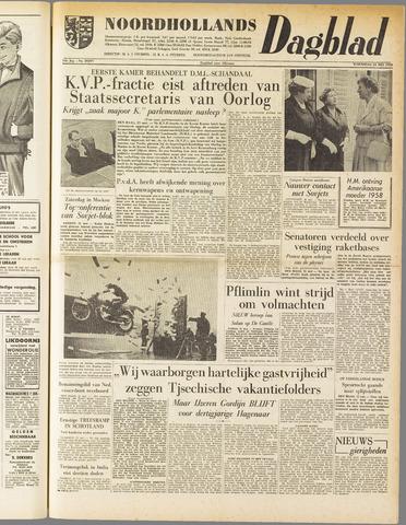 Noordhollands Dagblad : dagblad voor Alkmaar en omgeving 1958-05-21