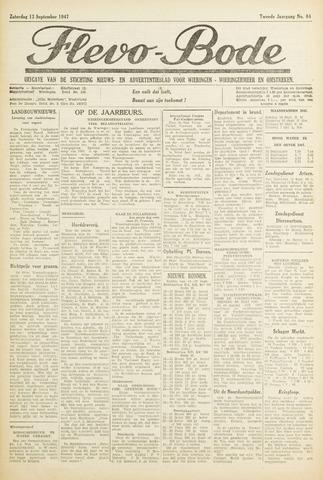 Flevo-bode: nieuwsblad voor Wieringen-Wieringermeer 1947-09-13